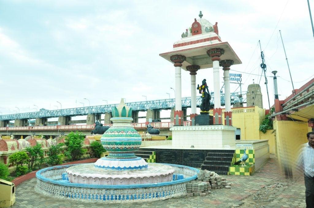 Kanaka Durga Temple after which Bhavani Island takes its name.