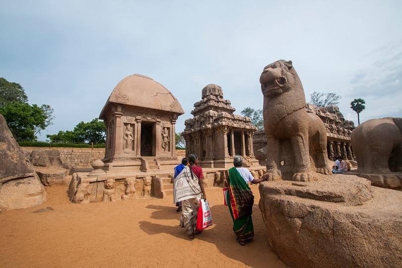 Monolithic Rock Temples, Mahabalipuram-10 Best Temples of Tamil Nadu (1)